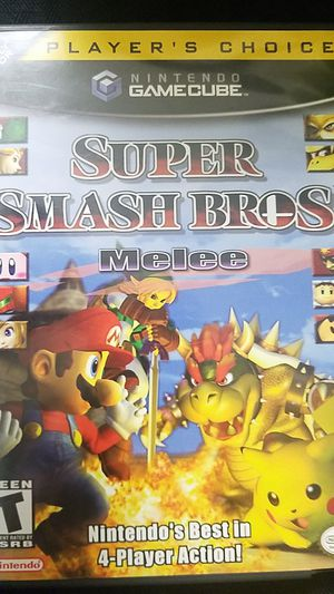 Gamecube Super Smash Bros. Melee game for Sale in Campbell, CA