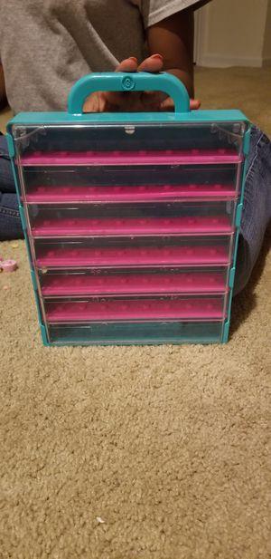 Shopkins Case & Pencil box of shopkins for Sale in Charlotte, NC