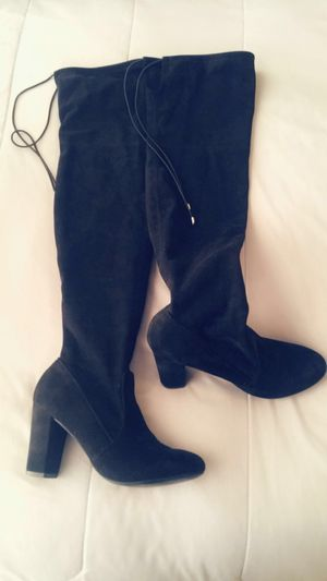 Black Thigh high boots for Sale in Salt Lake City, UT