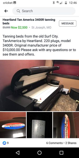 Tanning beds MUST GO MAKE OFFER for Sale in Saint Joseph, MO