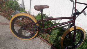 Burgundy bmx bike for Sale in Lakeland, FL