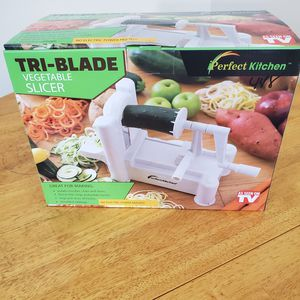 Used, Tri-blade vegetable slicer for Sale for sale  Durham, NC