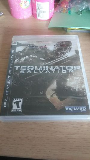 Factory Sealed Ps3 Terminator Salvation for Sale in Santa Clara, CA