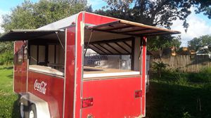 16 x 8 trailer mobile kitchen with three open windows for Sale in Princeton, FL