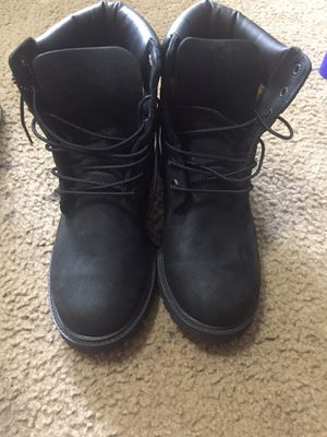 Timberlands Black for Sale in Arlington, TX