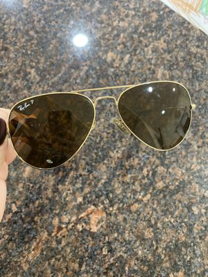 Authentic Ray Ban aviator brown lens sunglasses for Sale in Fairfax, VA