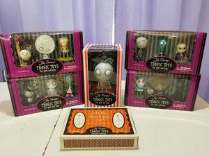 Tim Burton Tragic Toys Collection for Sale in Walden, NY