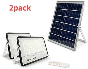 2Pack 100W LED Solar Security Street Light Waterproof Outdoor Use for Sale in Los Angeles, CA