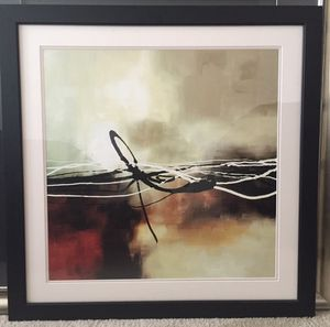 40x40 Framed and Matted Picture for Sale in Houston, TX