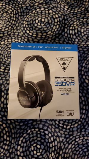 Turtle Beach Stealth 350VR PS4 Gaming Headset for Sale in Norwalk, CA