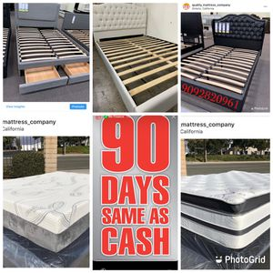 Queen Beds And Mattress at A Low Price!! for Sale in Montclair, CA