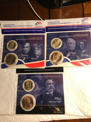 Lot of Presidential coin & First Spouse Medal set for Sale in Lake Wales, FL