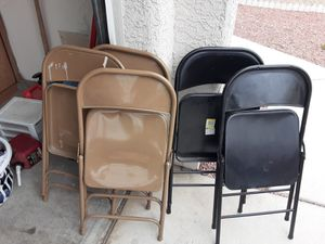 Metal chairs for Sale in Las Vegas, NV