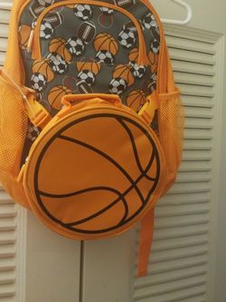 Brand NEW Kids Sports Backpack w/lunch Bag for Sale in Silver Spring,  MD