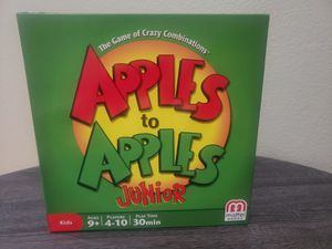 Mattel games, Apples to Apples Junior. for Sale in Highland, CA