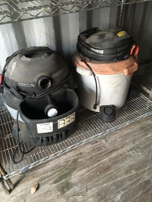 Shop vacs rigid brand and Shop vac brand for Sale in West Palm Beach, FL