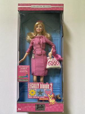 Legally Blonde 2 Barbie Doll. Includes dog, purse, stand for Sale in Arcadia, CA