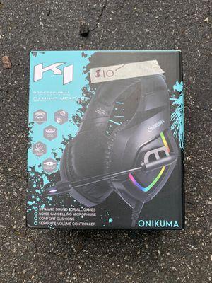 Gaming headphones Xbox, PS4 for Sale in Newark, NJ