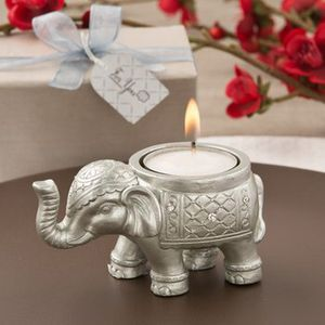 Good luck silver Indian elephant candle holder for Sale in Camp Springs, MD