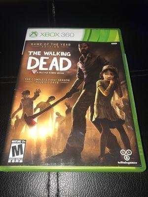 The Walking Dead 1st Season Telltale games Xbox 360 for Sale in Corona, CA