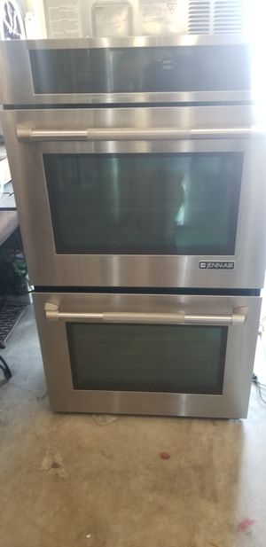 Jenn Air stainless steel double wall oven and microwave drawer for Sale in Kissimmee, FL
