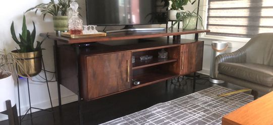 Midcentury wood executive desk for Sale in Philadelphia,  PA