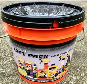 Brand new Armor All Complete Car Care Gift Pack Bucket (10 Piece Kit) (pick up only) for Sale in Alexandria, VA