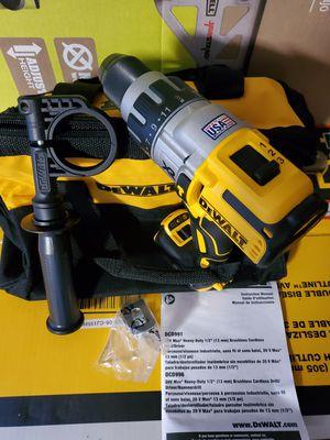 """Dewalt DCD996 20V Max XR 1/2"""" Premium Brushless Hammer Drill 3-Speeds 3-LEDModeLight - Tool & Bag for Sale in Vancouver, WA"""