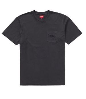 Supreme Large Overdyed Pocket Tee for Sale in Lynn, MA