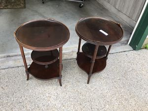 Antique end tables for Sale in Hanover, MD