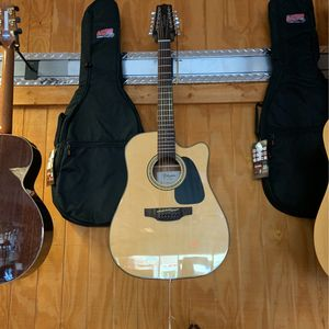Takamine Acoustic Electric Guitar 12 String for Sale in Chandler, AZ