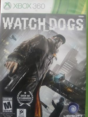 Xbox 360 watch dogs video game for Sale in Long Beach, CA