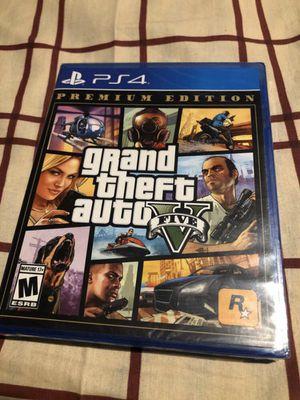 Grand Theft Auto V Premium Edition PS4 {NEW}‼️ for Sale in Los Angeles, CA