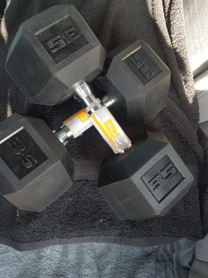 New 35lbs Dumbells Pair *** for Sale in Downey, CA