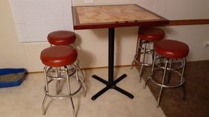 Barstools with table for Sale in Baytown, TX