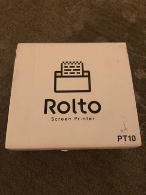 King Jim Rolto screen printer for iPhone new! $204 for Sale in Los Angeles, CA
