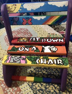 Step Stool/Chair for Kids for Sale in San Angelo,  TX