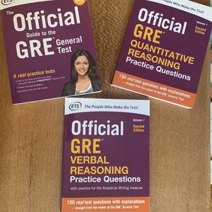 ETS Official GRE Prep Books for Sale in Oakland, CA