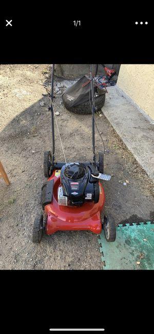 "Craftsman 37298 21"" 140cc Briggs & Stratton Push Lawn Mower with High Rear Wheels for Sale in Richmond, CA"