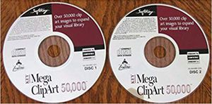 SoftKey Mega ClipArt 50,000 - Windows 95/ - Disc's 1 and 2 for Sale in Wheeling, IL