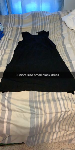 Juniors size small black dress for Sale in Montgomery, PA
