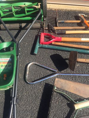 Lot Of 21 Pieces Of Gardening Tools+Tools for Sale in West Springfield, VA
