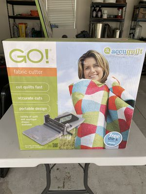 Accuquilt GO! With 12 dies for Sale in North Olmsted, OH