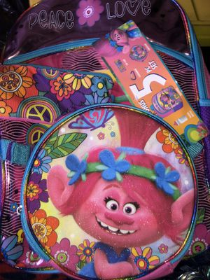 """5 pc BackPack of Trolls """"Poppy"""" for Sale in Anaheim, CA"""
