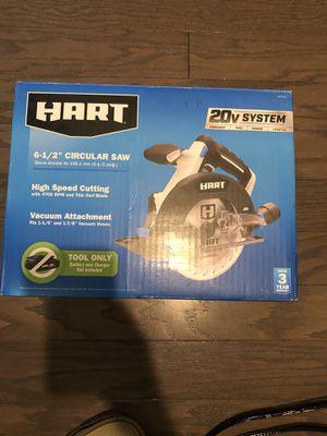 Hart cordless circular saw 6 1/2 for Sale in Tyrone, GA