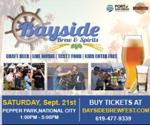 Bayside Brew & Spirits Festival. 15 each for Sale in San Diego, CA