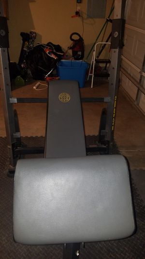 Golds Gym Olympic Bench for Sale in Lubbock, TX