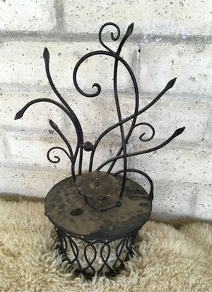 Metal stand. Candle holder or garden junk for Sale in Fresno, CA