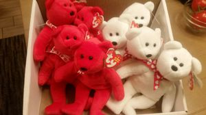 Ty Beanie Valentine Bears Exclusive Amora Xavier for Sale in Fresno, CA
