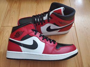 Nike Air Jordan 1 Mid Retro Chicago Black Toe size 10 Black Red Union Bred Travis Scott for Sale in El Monte, CA